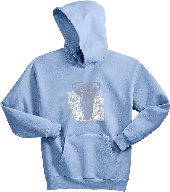 LA Pop Art Girl/'s Word Art Hooded Sweatshirt Namaste