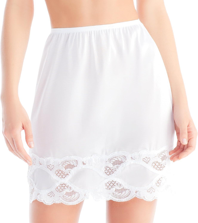 Ilusion 1817 Industry No. Las Vegas Mall 1 - Women's Long Slip Trim Skirt Lace
