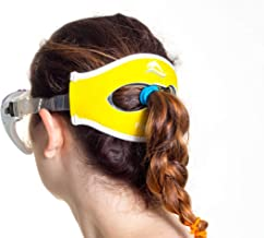 Poni-tamer Comfortable Neoprene mask Strap Cover for Scuba, Snorkeling & Swim Masks. Perfect for Pony Tails or w/o Keeps Your mask in Place. for Adult and Kids Mask Sizes. Stops Tangled Hair