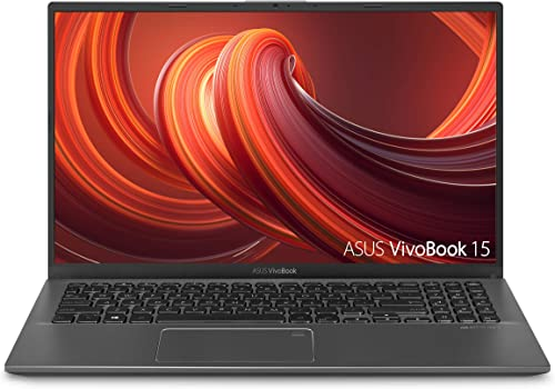 """new arrival ASUS VivoBook 15 Thin and Light Laptop, 15.6"""" FHD Display, new arrival Intel i3-1005G1 CPU, 8GB RAM, 128GB SSD, high quality Backlit Keyboard, Fingerprint, Windows 10 Home in S Mode, Slate Gray, F512JA-AS34 outlet sale"""