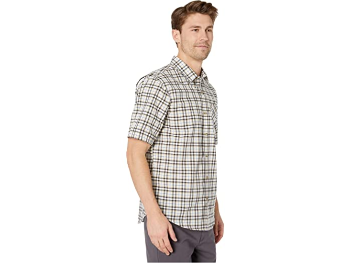 Timberland Pro Trama Short Sleeve Work Shirt Dark Navy Frye Island Plaid Shirts & Tops