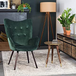 FurnitureR Silla de Ocio Moderna Mid-Century Silla de Ocio c