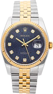 Rolex Datejust Mechanical (Automatic) Blue Dial Mens Watch 116233 (Certified Pre-Owned)