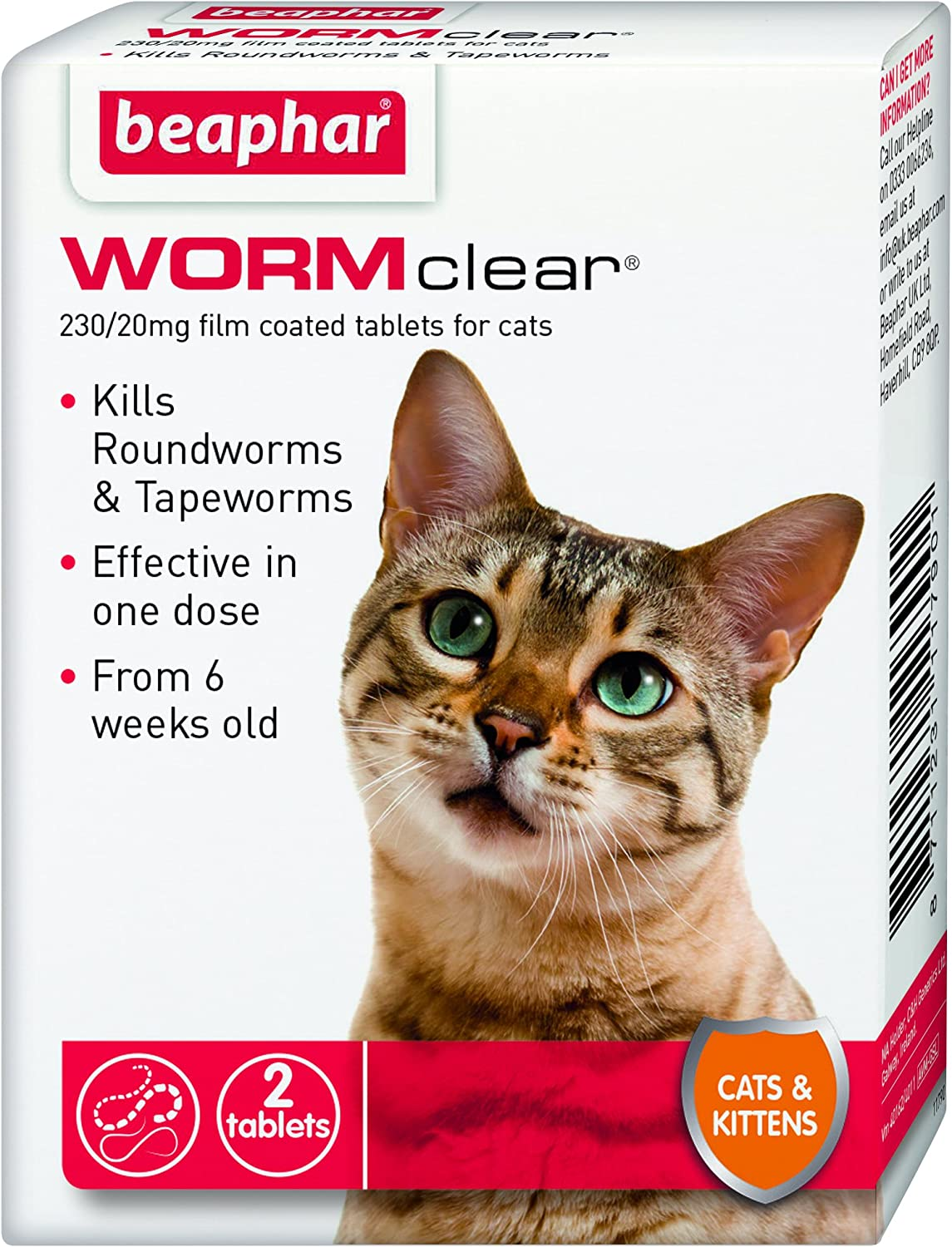 Beaphar Max 75% OFF WORMclear for trend rank Cats and Kittens