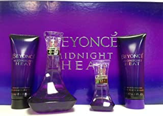 Beyonce Knowles Midnight Heat 4 Piece Fragrance Set