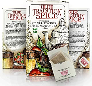 Sponsored Ad - Olde Tradition Spice: Mulling Spices in Tea Bags for Hot Apple Cider or Mulled Wine- 24 Count