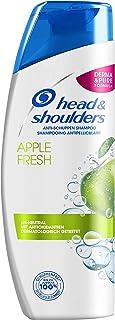 Head & Shoulders Apple Fresh szampon przeciwłupieżowy, 6 sztuk (6 x 300 ml), swędzenie i sucha skóra głowy, o długotrwałym...
