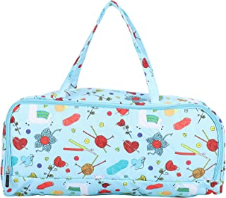 Crochet sac de rangement, sac à tricoter organisateur de stockage de fil sac à tricoter organisateur de stockage de fil Ki...