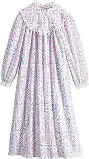 ثوب نوم للفتيات من لانز أوف سالزبيرغ مصنوع من قماش الفلانيل الغرلي بمقاس 4-16
