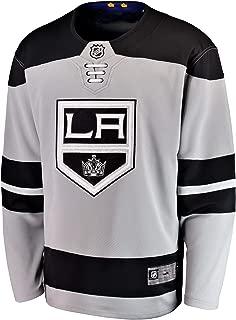Los Angeles Kings Blank Gray Alternate Youth Premier Team Jersey