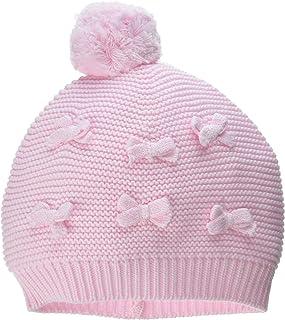 Mud Pie Baby Girls' Bow Knit Hat