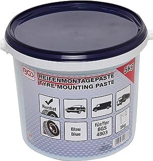 BGS 9383 | Reifenmontagepaste für Run Flat Reifen | blau | 5 kg