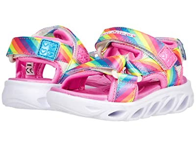 SKECHERS KIDS Sport Lighted Sandal Hypno-Splash Rainbow Lights 20218N (Toddler)