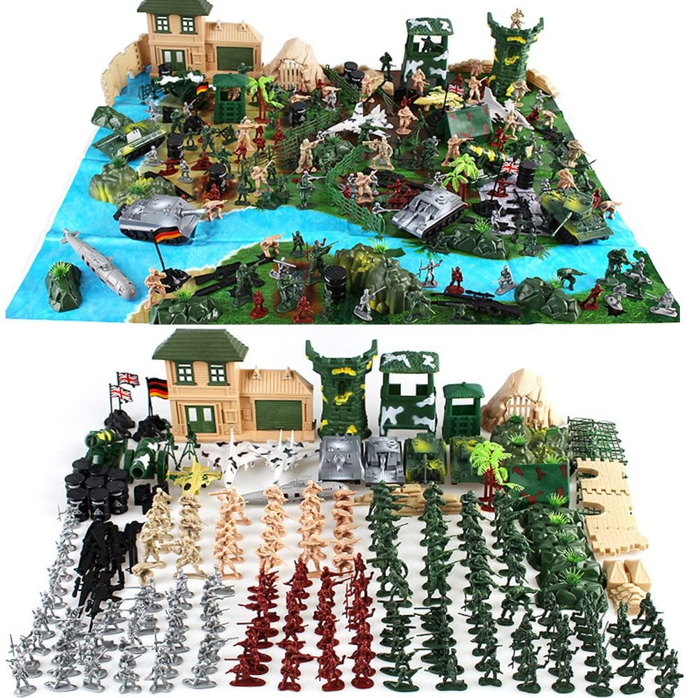 Cp-Tree Huge Simulated Limited price Battlefield New sales Play Base Military Piece 300