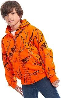 kids blaze orange vest
