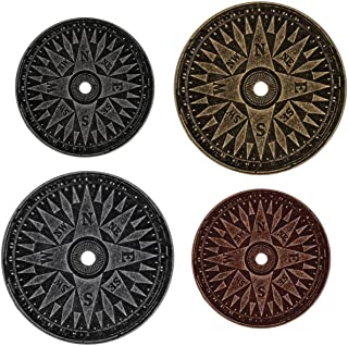 Compass Coins by Tim Holtz Idea-ology, Pack of 4, Assorted Finishes,