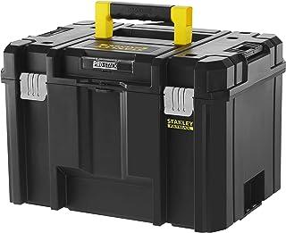 Stanley FMST1-71971 FatMax Pro Stack diepe gereedschapskist (23 l inhoud, met metalen sluitingen en uitneembare draaggree...