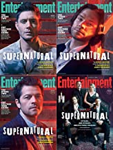 Entertainment Weekly Magazine January 25 2019 Supernatural Family Reunion All 4 Covers