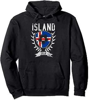 Icelandic Football 2018 Hoodie Island Iceland Soccer Jersey