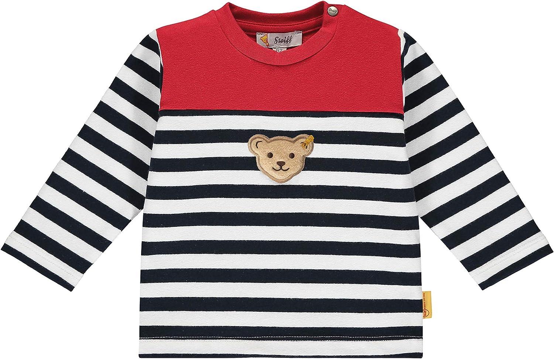 Steiff Baby Boys Mit S/ü/ßer teddyb/ärapplikation Sweatshirt
