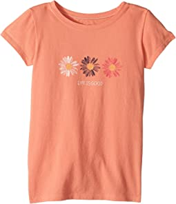 Life is Good Kids - Daisies Crusher Tee (Little Kids/Big Kids)