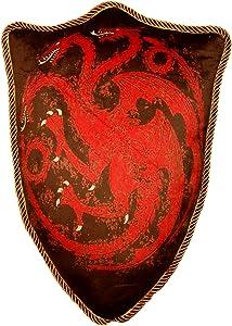 Factory Entertainment Game of Thrones House Targaryen Dragon Sigil Throw Plush Pillow
