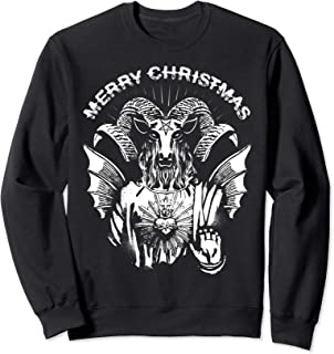 Merry Christmas Satanic Baphomet Sweatshirt