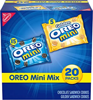 Sponsored Ad - OREO Mini Mix Sandwich Cookies Variety Pack, 20 - 1 oz Snack Packs