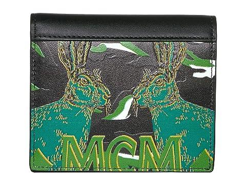 MCM Pop Rabbit Flap Wallet/Two-Fold Mini