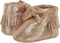 Soft Soft Metallic Crackle Moccasin (Infant)