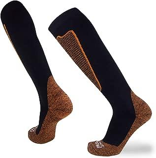 Pure Athlete Copper Compression Ski Socks Men – Warm Merino Wool,  OTC,  Women