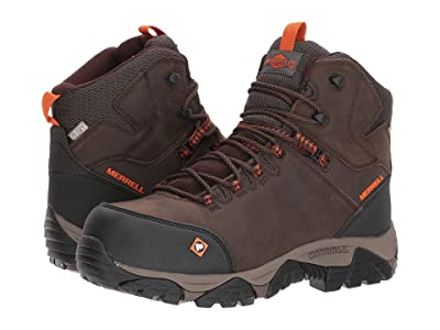 Merrell Work Phaserbound Mid Waterproof CT (Espresso) Men