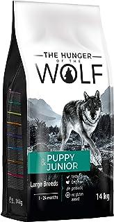 The Hunger of The Wolf Alimento seco para cachorros y perros jóvenes de razas grandes y gigantes, con alto contenido de ca...