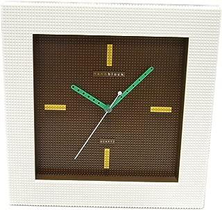 [ナノブロック]nanoblock デコレーション壁掛時計 おまけフィギア付 ウォールクロック ブラウン NAWC-96901BR