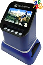 Wolverine F2D Saturn Digital Film & Slide Scanner – Converts 120 Medium Format,..