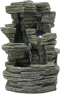 Zen'Light SCFR150 Fontaine Nature, Résine de polymère, Gris, Taille Unique