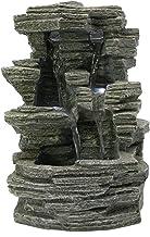 Zen'Light SCFR150 Grand Canyon fontein, grijs, steen, 19 x 16 x 28 cm