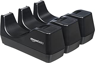AmazonBasics Office Desk Tape Dispenser - 3-Pack