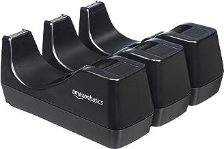 AmazonBasics Office Desk Tape Dispenser - 3-Pack