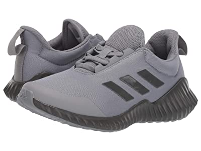 adidas Kids FortaRun Wide (Little Kid/Big Kid) (Grey/Black) Boy