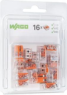 WAGO® Borne 221-412 2 fils 4 mm² avec levier