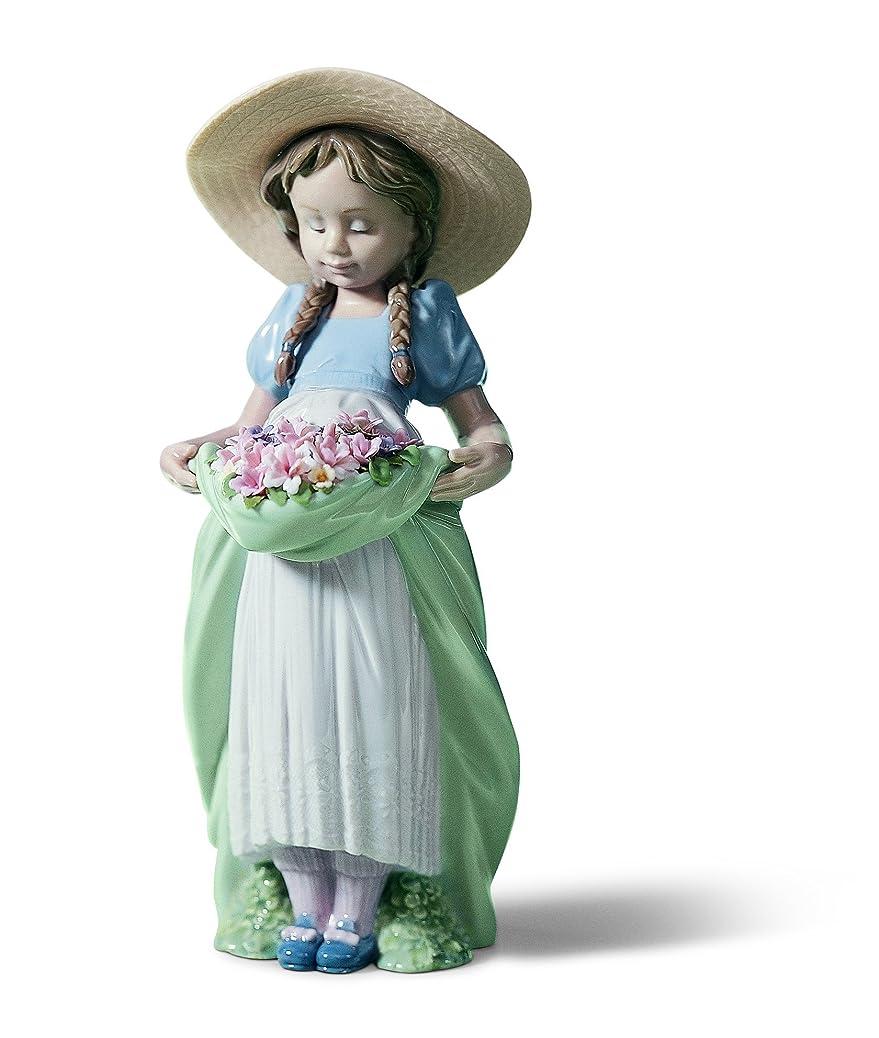 時系列揮発性演劇リヤドロ LLADRó 人形 たくさん摘めたよ!  01006756