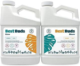 مواد مغذی هیدروپونیک - بهترین غنچه ها غذای گیاهی هیدروپونیک (بسته بطری های 2- 36 اونس) توسط Beanstalk ، مواد مغذی برای گیاهان هیدروپونیک ، مواد مغذی باغ هیدروپونیک ، مواد مغذی گیاهی