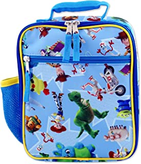 Toy Story 4 Boy's Girl's Soft Insulated School Lunch Box (One Size, Blue)
