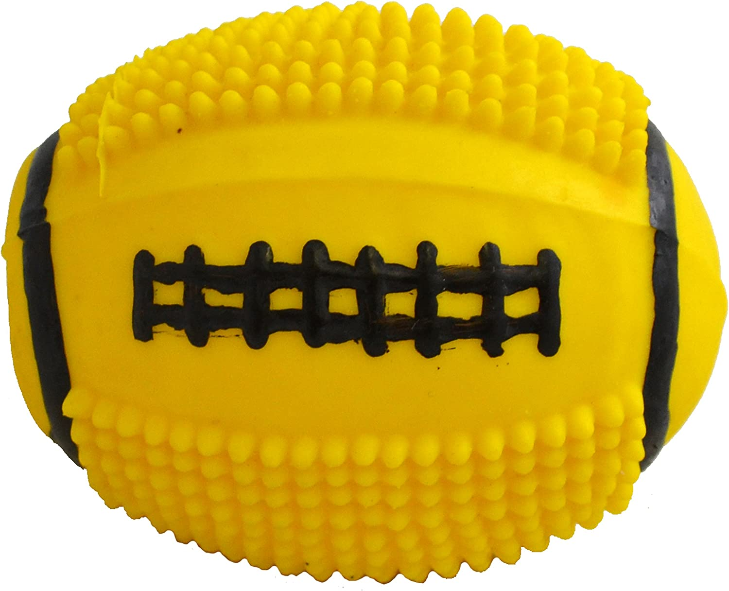 Amazing Pet Products Latex Dog Toy, 4Inch, Spiny Football