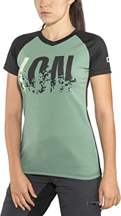 Ion Letters Scrub Amp 2019 Women's Cycling Jersey Short Green Black