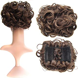 curly hair pieces for dance