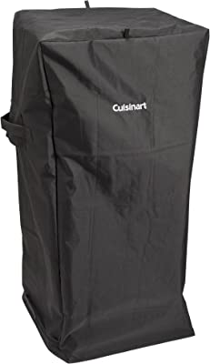 """Cuisinart CGC-10244 Universal, 21"""" x 17"""" x 47"""", Vertical Smoker Cover, Fits up to 36"""""""