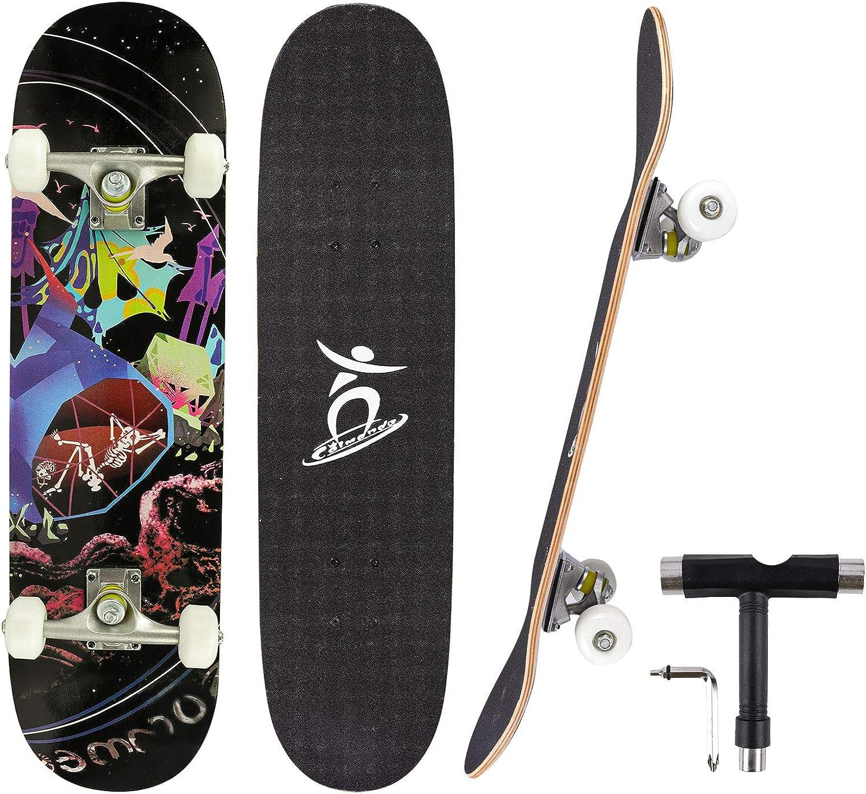 Mixhomic Skateboards for Beginners 31