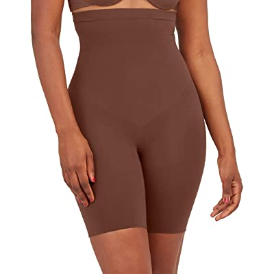 Spanx Higher Power Shorts (Chestnut Brown) Women